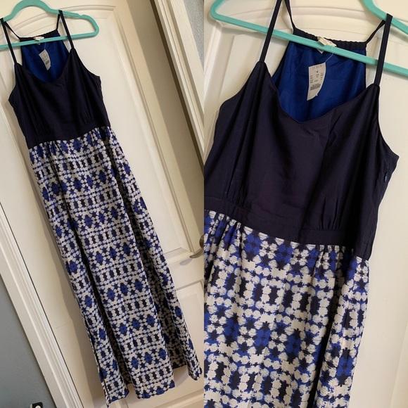 J. Crew Factory Dresses & Skirts - J crew navy maxi dress